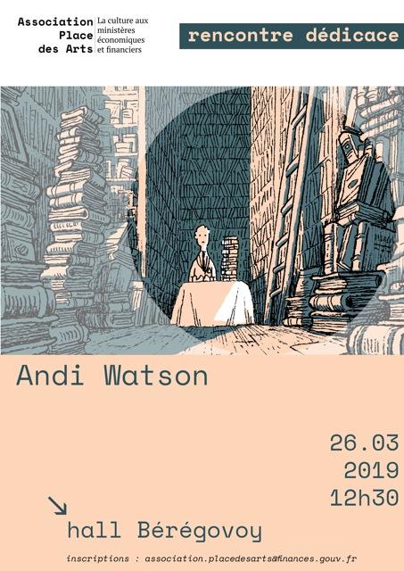 Andi Watson Affiche